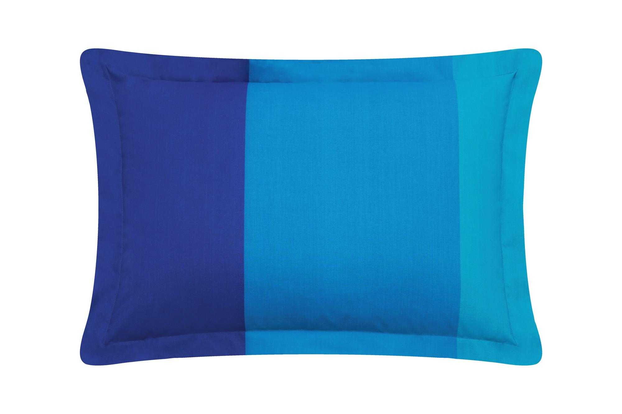 Funda Decorativa Casa Blanca Azul