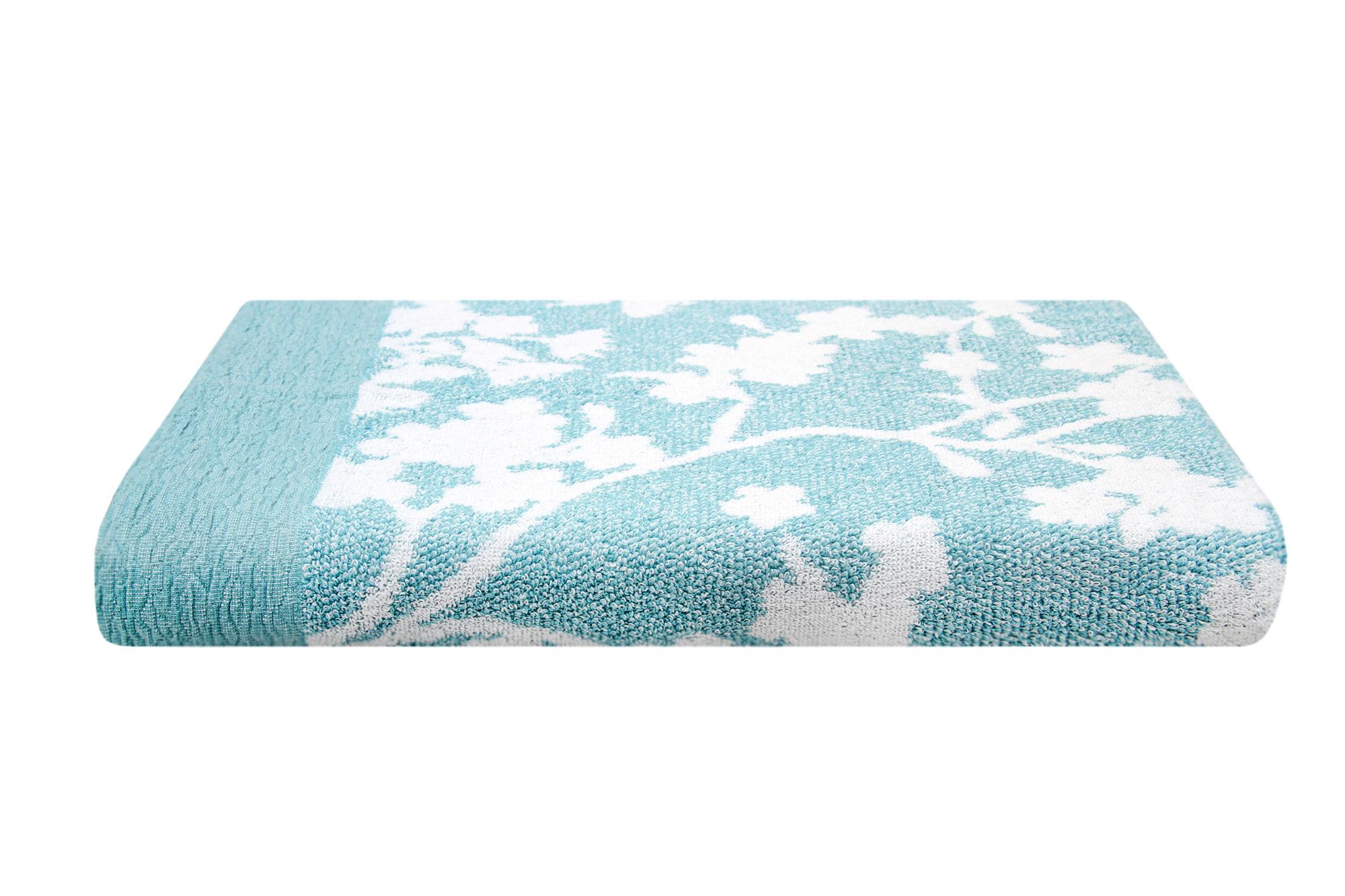 Toalla Flora Azul